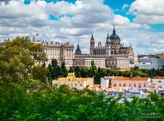De Madrid al Cielo (BryantBA) Tags: almudena madrid comunidaddemadrid spain es catedral palacio my clouds nubes debod templodedebod