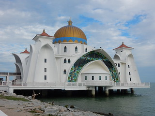 Malaccan Straits Mosque - Northern Side