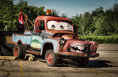Mater (HTT) (13skies) Tags: laura mater towtruck character movie theme fun southern bbq happytruckthursday truck trucking move htt sonya57 13skies coolestphotographer cool playful