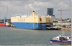 Morning Linda, alongside Berths 43 and 44, Southampton, June 3rd 2017 (Bristol RE) Tags: morninglinda southampton eukor berth43 berth44 imo 9383106