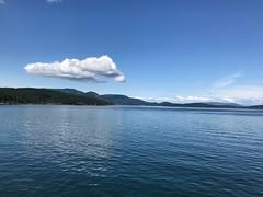 Orcas Island (davekrovetz) Tags: islands water washington orcasisland clouds reflections
