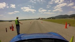 Unexpected Distraction (R.A. Killmer) Tags: chopper helicopter buzzed flyover close distraction autocross cumberlandairportautocross cumberland gt4 porsche fast horsepower funny fun cone scca
