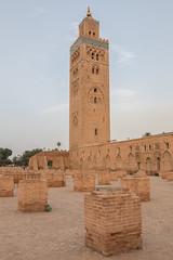 2017/04/17 19h26 Koutoubia (Marrakech) (Valéry Hugotte) Tags: 24105 koutoubia maroc marrakech canon5d canon5dmarkiv minaret mosquée marrakechtensiftalhaouz ma