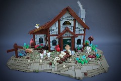 Summer Joust Castle Collab: Farm (-Balbo-) Tags: lego moc farm balbo creation bauwerk