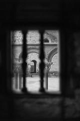 Monastery - Monasterio (Àlex MF) Tags: sanjuandelapeña leica m bnw byn aragon huesca españa spain pirineos pyrenees monestry monasterio templarios arco herradura