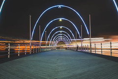 Queen Emma Bridge (KD Robinson) Tags: view curacao color impressive travelphotography street water city sony perspective a7ii longexposure ocean beautiful travel outdoors buildings urbanexploration architecture seascape lines willemstad bridge detail curaçao cw