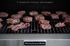 172/365 - Grilling (Jacqueline Sinclair) Tags: bbq food kitchenaid kitchen aid barbecue steak meat grill grilling cook cooking tenderloin steaks