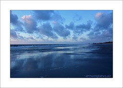 Blue beach (prendergasttony) Tags: blue florida america outdoor clouds water sand seascape nature elements nikon d7200 reflection vacation holiday border