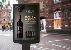 Mockup campagna affissionale (delfiepartners italia) Tags: podere vino wine street photography stillife mockup adv advertising art