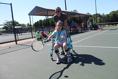 IMG_8513 (varietystl) Tags: walker tennis summercamp anklefootorthotics afos afobraces legbraces orthotics