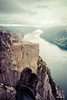 Preikestolen (sicksadlittleworld) Tags: climbing camping hike shoes landscape landschaft doreenreichmann hikingshoes water mountains preikestolen relaxing 2016 boots view sea norway reise trek paisaje norwegen lysefjord travel norge journey wasser trip rock felsen berge wanderung hikinh hamburg