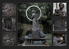 Barnsley in Polyptych (#19) - Oaks Colliery Disaster Memorial(2) (S.R.Murphy) Tags: barnsleyinpolyptych barnsley sculpture oakscollierydisaster oakscollierydisastermemorial southyorkshire england mining stuartmurphy grahamibbeson flickexplore24062017 inexplore workofart art publicart publicsculpture