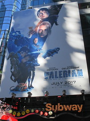 Valerian and the City of a Thousand Planets Billboard Poster 7950 (Brechtbug) Tags: valerian city thousand planets billboard poster times square nyc 2017 french science fiction comics series from 1967 valérian laureline written by pierre christin illustrated jeanclaude mézières film movie directed luc besson new york 06262017