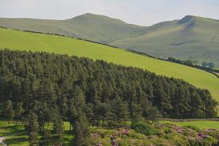 Mount Famine, Peak District National Park, Derbyshire, England.