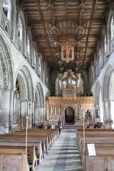 St David's Cathedral Interior 3 (ahisgett) Tags: wales stdavids davids cathedral