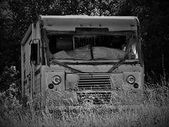 RV Decay (robgividenonyx) Tags: kentucky rv camper abandoned decay bw roadside