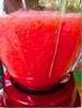Delicious, Colorful, and Refreshing❣️- Image Processing Experiment 1b (Chic Bee) Tags: recipe watermelon juice lime pumpkinpiespices spice ground cinnamon allspice nutmeg ginger cloves icecubes blended foodprocessor delicious cool cold food drink heatwave tucson arizona