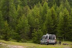 Relax nei boschi-8 ( YariGhidone ) Tags: rosso cesana lago nero claviere monti della luna van life vanlife campe furgone vita avventure adventure campfire camping wildlife wild camper