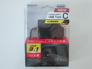 Elecom USB-C Memory Card Reader
