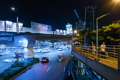 Overlooking Alabang Viaduct (bryanshoots) Tags: urban night city lights alabang muntinlupa philippines panasonic lumix lx100 street streetphotography viaduct