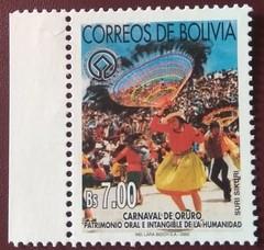 "stamp ""Carnaval de Oruro"" (Bolivia 2002) (Sasha India) Tags: bolivia stamps philately sellos briefmarken carnaval"