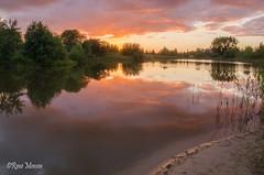 Parc Sandur (Rene Mensen) Tags: parc sandur sunset sun sky rene mensen reflection emmen d5100 drenthe nature nikon thenetherlands