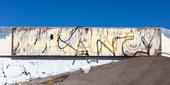 Once upon a time... (A Different Perspective) Tags: arizona holbrook usa broken motel neon office sign text wall worn