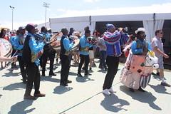 Conga Los Hoyos (2017) 11 - Parade (KM's Live Music shots) Tags: worldmusic cuba congasantiaguera congaloshoyos neworleansjazzheritagefestival fairgroundsracecourseneworleans