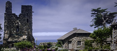 Tor House and Hawk Tower (Greatest Paka Photography) Tags: robinsonjeffers torhouse hawktower carmelbythesea carmelpoint california montereybay poet coast hawk tor icon nationalregisterofhistoricplaces history rock stone tower house home ocean view