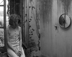 M. (denzzz) Tags: portrait blackwhite blackandwhite skancheli analogphotography filmphotography wista45dx 4x5 largeformat fujinona 180mm kodak tmax400 urbex abandoned beautifuldecay derelict