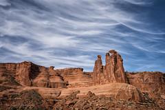 The Gossips in fading light (Cate Fraenkel) Tags: archesnationalpark nationalparks thegossips utah community desert iconic sandstone women