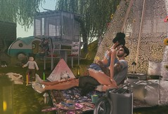 Camping (Leled3 Braham) Tags: stealthic deadwool camping girlfriend kids sons