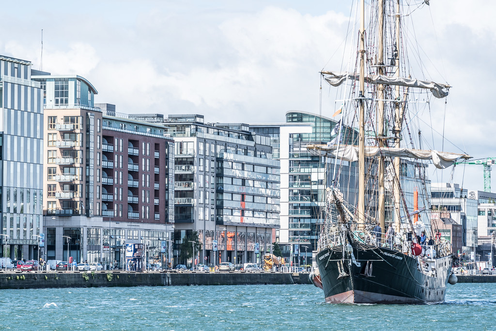 PELICAN OF LONDON [TALL SHIPS LEAVING DUBLIN PORT TUESDAY JUNE 6 2017]-129381