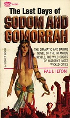 Signet Books D2245 - Paul Ilton - The Last Days of Sodom and Gomorrah (swallace99) Tags: signet vintage 60s biblical fiction paperback robertmaguire