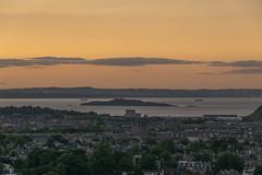 Inchkeith & Leith Sunset Edinburgh (Colin Myers Photography) Tags: edinburgh scotland epic colin myers photography colinmyersphotography inchkeith leith sunset island forth