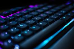 junio 01, 2017-0534 (kiwi.melonpan) Tags: razer keyboard product bokeh colors gaming gamer black