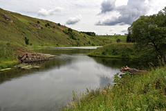Zigzag (Unicorn.mod) Tags: 2017 june landsape summer outdoor river zigzag sky clouds nature samyang35mmf14asumc samyangmf35mmf14edasumcae samyang myfocus manual manuallens
