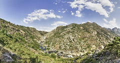 Panoramica - Costa da morte (Rubén Santamaría Fotografía) Tags: landscape paisaje panoramica pano panoramic galicia rio river mountain nikon