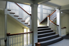 Inside office building Oakland California 170626-111817 C4 (Wambeke & Wambeke Photography, Art, & Textiles) Tags: staircase stairs linesandcurves insideoaklandofficebuilding carpetedstairs windows banister railing 230grandaveoaklandcalifornia charliewambekephotography charliesphotoart charliewambekephoto charliewambekephotograph charliesphotoartcom canonpowershotsx50photograph canonsx50photograph canonsx50photo wambekewambekephotographyarttextiles wambekewambeke wambekeandwambekephoto wambekeandwambekephotography wambekewambekephotographyquiltingspecialists