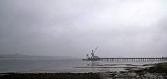 Pier into the mist! (PAUL Y-D) Tags: rivertamar saltashpassage pier jetty cranes wharf mist misty water tide tidal