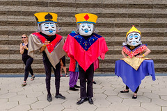 Parade the Circle (Steve Brezger Photography) Tags: people street arts ceremonial collage color costumes exhibition march media outdoor parade performance procession public showy style talent