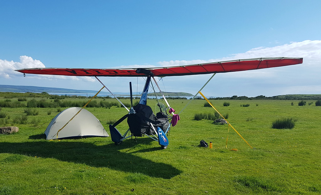 Secured for the night at Gigha and laundry hung out