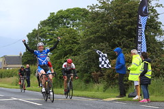 Tom Anderson Memorial Race incorporating the Scottish Veterans' Road Race Championship, 2017. (Paris-Roubaix) Tags: jamie henderson spokes rt andy bruce leslie bikes kenny riddle moray firth cc finishing sprint scottish veterans road race championship falkirk bike club cowie bicycle racing 2017