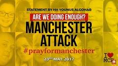 Videos: #ManchesterAttack - Are We Doing Enough? (Mehdi/Messiah Foundation International) Tags: britain criminal islam manchester manchesterattack muslim muslims prayformanchester prophetmohammad salafi salafism uk wahhabi wahhabism younusalgohar