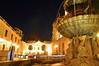 澳門大堂(主教座堂) Igreja da Sé, Macau (leo_li's Photography) Tags: igrejadasé fountain 主教座堂 macau macao 澳门 澳門 nightscape night