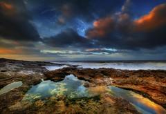 """"""" BOOM """" (Wiffsmiff23) Tags: ogmore ogwr ogmorebysea ocean heritagecoastlinesouthwales traeth beach dramatic drama southwales sunrise sea"""
