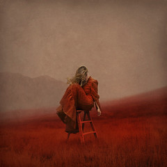 manifestations (brookeshaden) Tags: brookeshaden fineartphotography conceptualphotography selfportrait redfield bloodred surrealism