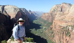 At the Top (KYcactus) Tags: utah zion angels landing narrows national park climbing hiking