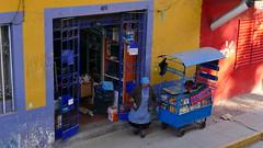 Blick von oben (marionkaminski) Tags: peru südamerika southamerica puno stadt town titicacasee strase street ciudad panasonic lumix fz1000