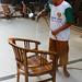 Furniture Worker varnishing